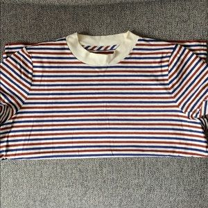 Cute Madewell Striped T-Shirt - Great Condition!